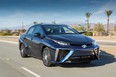 The 2016 Mirai goes on sale in the United States next year, with the initial market California, followed by a cluster of states in the north-east.