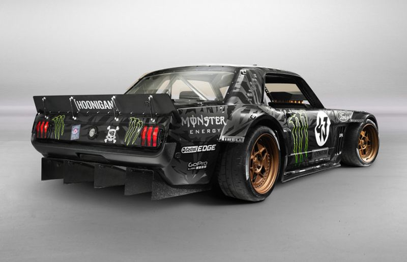 Ken Block's 1965 Ford Mustang Fastback, known as the Hoonicorn RTR.