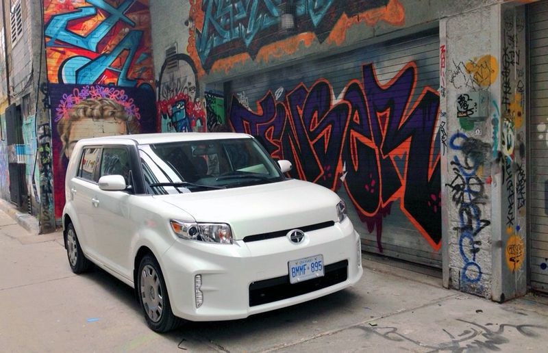 The 2014 Scion xB could use a transmission upgrade.