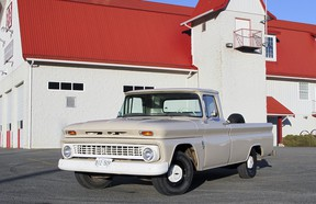 The 1963 Chevrolet C10 pickup was one of the most popular utility vehicles of its time.