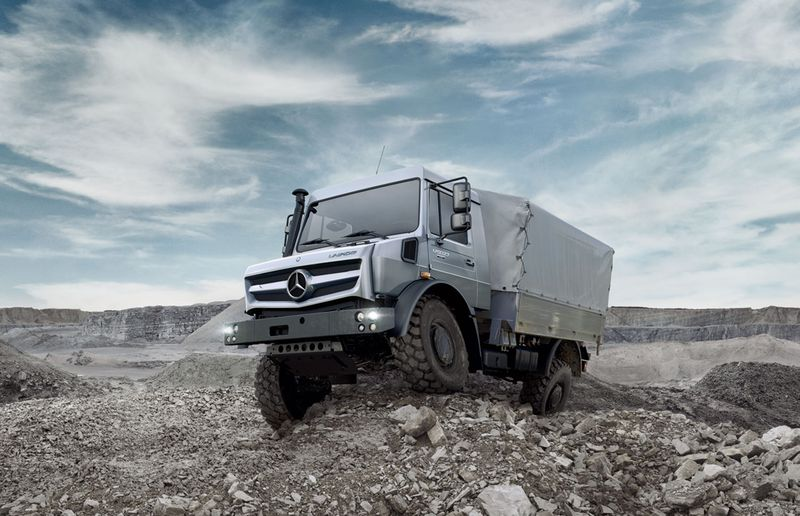 The Unimog was originally built for farmers, but today it has many more uses.