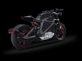Harley Davidson's all-electric Project LiveWire.