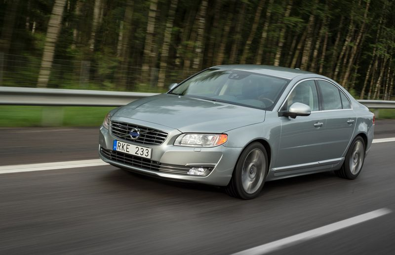 3rd place: Volvo S80, at 68 sold.