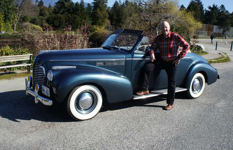 John Kennedy has owned his 1940 Buick Special convertible since his uncle gave it to him in 1961 when he turned 16 years old.
