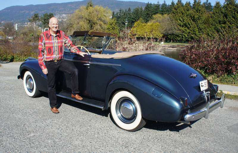 John Kennedy used to take his 1940 Buick Special convertible to the car hop after school when he was a teen.
