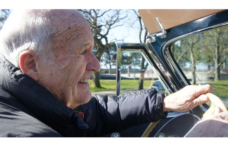 John Kennedy has spent 54 years at the wheel of the 1940 Buick Special convertible that his uncle gave him for his 16th birthday.