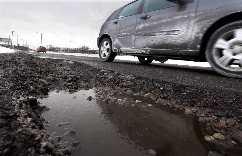 Potholes can be a costly nuisance for you and your car. Slow down, keep your eye on surrounding traffic, and avoid potholes altogether if you can.