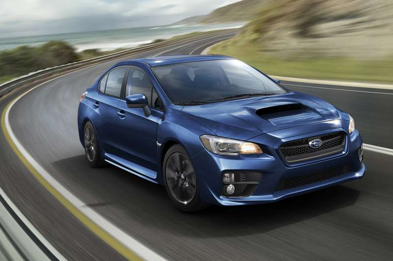 For 2015, Subaru has redesigned the WRX from the ground up, giving the car muscular front and rear wheel arches and an aggressive front bumper and grille.