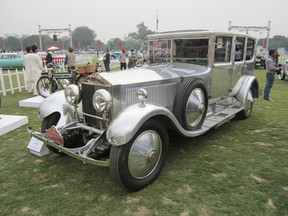 This Rolls-Royce 1927 Phantom I was custom built for the His Highness Maharajah Gaj Singhji of Jodpur — at one time, he owned 200 Rolls-Royces.