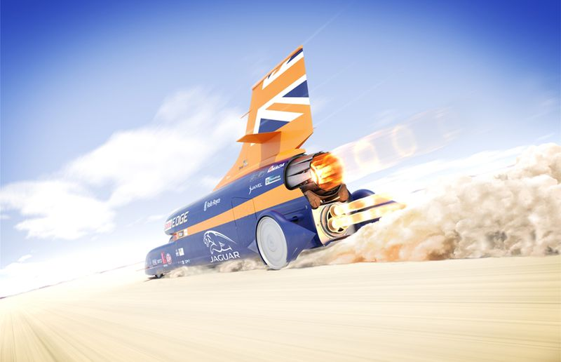 Bloodhound land speed record paused as effort may go bankrupt
