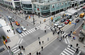 Turning right on a red light makes things very dangerous for pedestrians and cyclists.