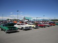 Vehicles attending Wild Wednesday cruise nights at the Grey Eagle Resort and Casino in Calgary. The Grey Eagle is the new home of Spring Thaw, an event hosted by the Nifty Fifty's Ford Club, slated for April 26.
