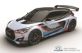 The Hyundai RM15 concept is essentially a race-ready Veloster with its engine mounted in the middle.