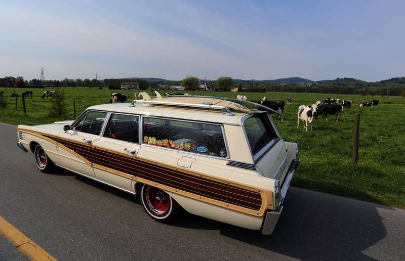 The Mercury station wagons from the 1960s are quite rare, as Chevrolet owned this market during that period, so the big Mercury wagons have huge appeal for collectors.