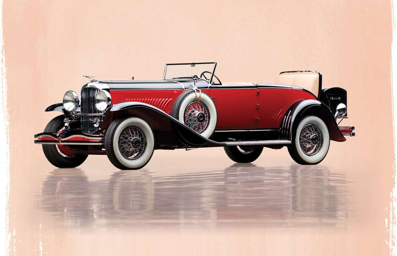 1931 Duesenberg Model J 'Disappearing Top' Convertible Coupe –$3,520,000.