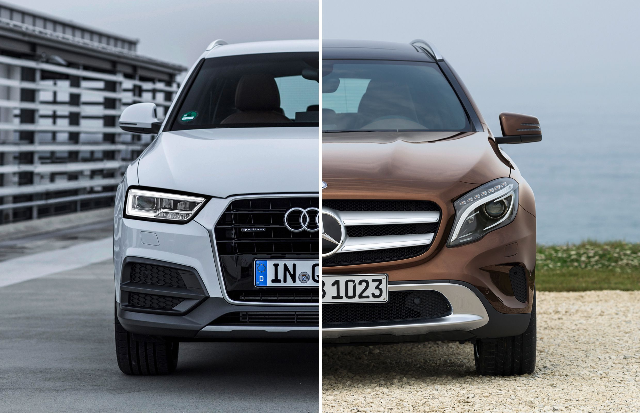 Audi Q3 vs Mercedes-Benz GLA comparison