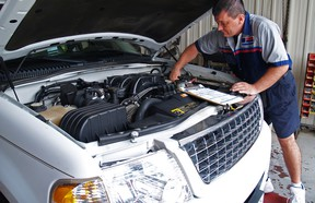 Getting a used vehicle inspected for safety is required before it can hit the road.
