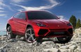 The Urus will be Lamborghini's first turbocharged and hybrid vehicle when it debuts in 2018.
