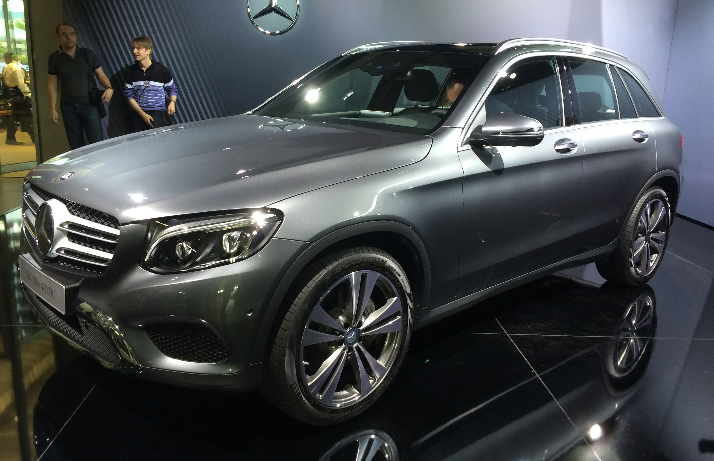 The 2016 Mercedes-Benz GLC.