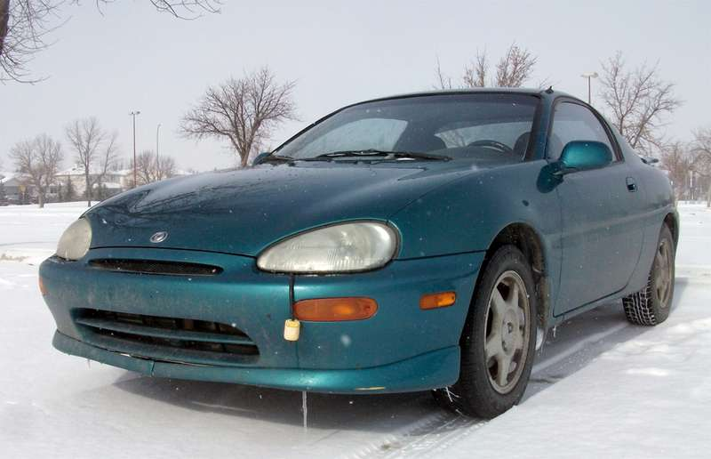 The worst car Lesley Wimbush has ever owned was a 1996 Mazda MX-3. She owns a 1992 model these days, which is far more reliable.