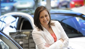 Miranda Meade is Customer Service coordinator at Auto West Infiniti, but her job is likened more to that of a hotel concierge.