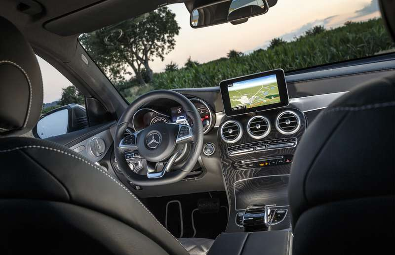 The 2016 Mercedes-Benz GLC-Class.