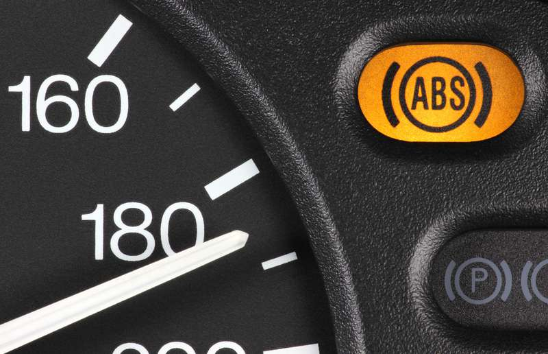 Don't worry about that vibrating brake pedal –that's just ABS kicking in.