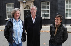 James May, Jeremy Clarkson and Richard Hammond have signed on with Amazon for a new motoring show, which will premiere in 2016.