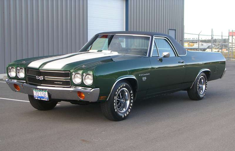 The 1970 Chevrolet El Camino delivered new the 450 horsepower LS6 engine option coupled to a four speed transmission.