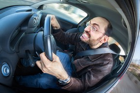 Road rage can also overcome even-tempered people, according to Psychology Today.