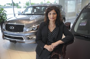 Sharon Rupal is the general manager of Openroad Infiniti in Langley,