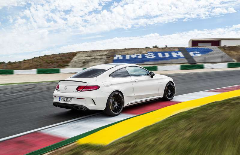 The 2017 Mercedes-AMG C63 coupe.