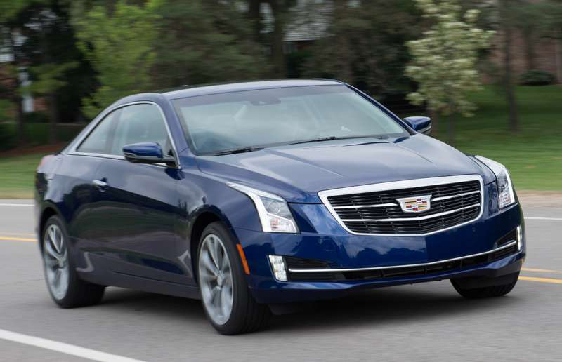 The 2015 Cadillac ATS Coupe offers drivers the choice of rear-wheel drive or all-wheel drive, manual or automatic transmission, and a 2.0L turbocharged four-cylinder or a 3.6L six-cylinder engine.