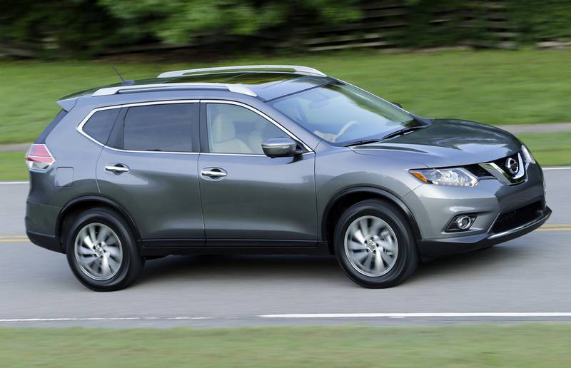 U.S. auto sales were very hot through July, thanks to luxury vehicles and SUVs like the Nissan Rogue, which saw a 51 per cent jump in sales.