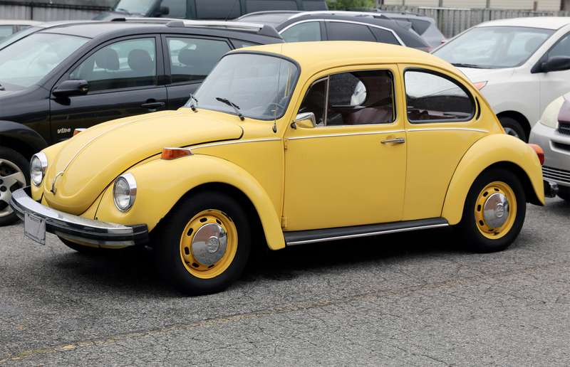 Despite sitting for several years, all Popi Bowman's mid-70s Volkswagen Beetle needed to start up after sitting for several years was a set of new spark plugs and an oil change.