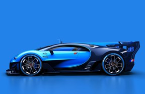 Bugatti's Vision Gran Turismo concept is a strong indication of what the upcoming Chiron could look like.