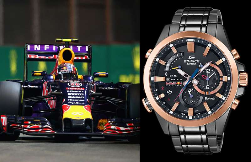 Casio's EQB-510RBM-1A Infiniti Red Bull Racing Limited Edition