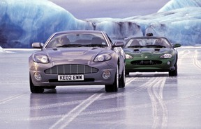 The car chase between the Aston Martin Vanquish and the Jaguar XKR was one of Die Another Day's slightly redeeming factors.