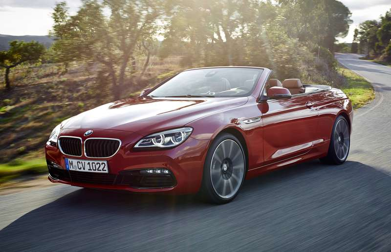 In 2015, this is what our BMW 6 Series looks like. No hovering capabilities to speak of.