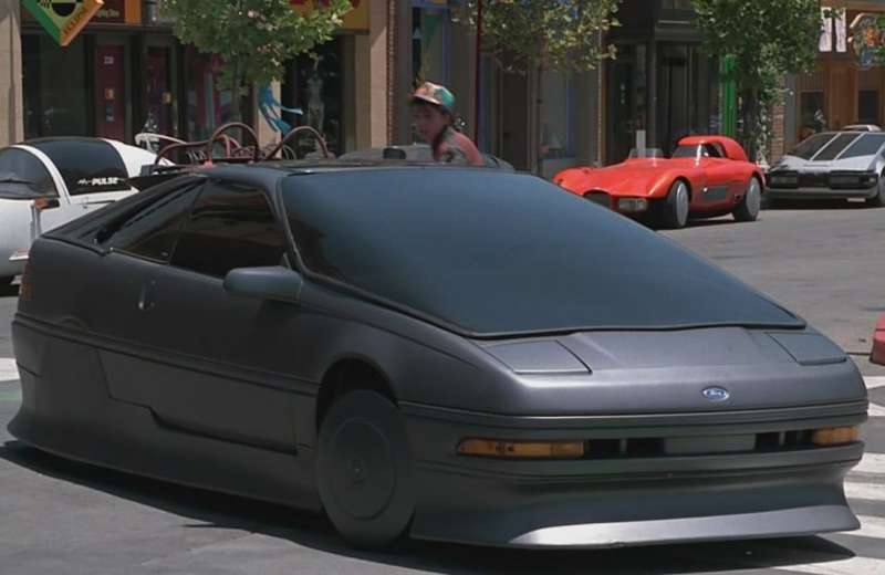 "You could practically skate a hoverboard over the ""2015"" Ford Probe."