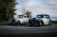 Helen Poon's 1937 Rolls-Royce 25/30 (left) and 1947 Bentley MkVI (right) are driven like they're meant to be.