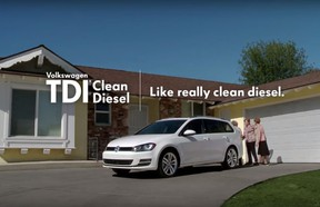 """This is a framegrab from a Volkswagen commercial for a vehicle with their TDI Clean Diesel engine. The Federal Trade Commission (FTC) is investigating whether Volkswagen's """"clean diesel"""" advertising claims amounted to a fraud on American consumers."""