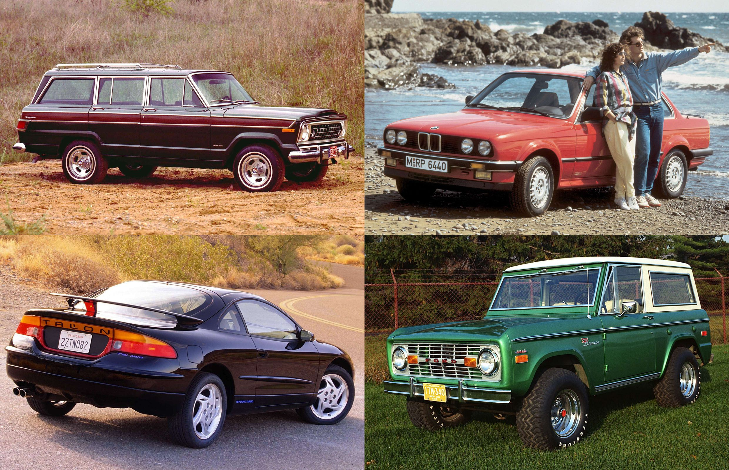 Retro AWD vehicles