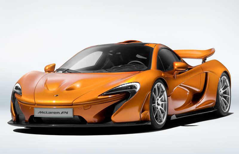The 375th McLaren P1 is finished in an orange similar to the final McLaren F1 ever built.