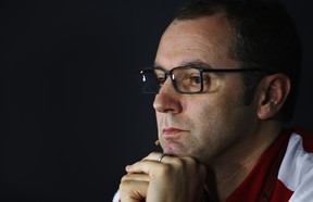 Stefano Domenicali, former Team Principal of Scuderia Ferrari, attends the official press conference following practice for the Indian Formula One Grand Prix at Buddh International Circuit on October 25, 2013 in Noida, India. Domenicali is now the CEO of Lamborghini, replacing Stephan Winkelmann.