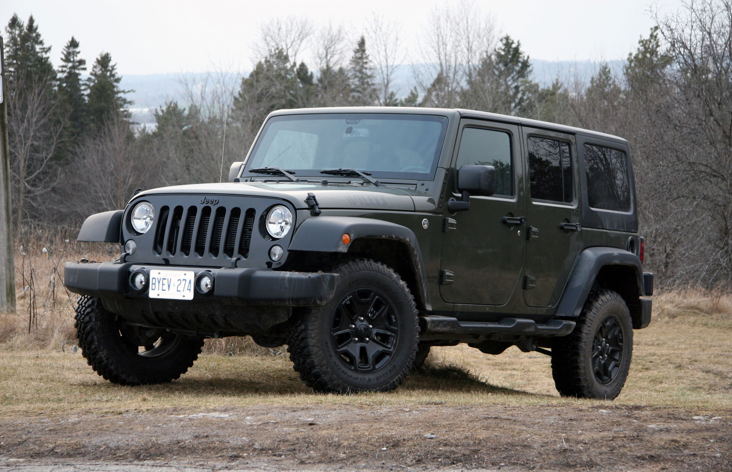 2016 Jeep Wrangler Unlimited Willys