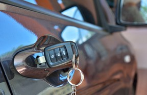Anyone who's misplaced a set of car keys knows the great struggle to keep them handy, but not where thieves can find them.