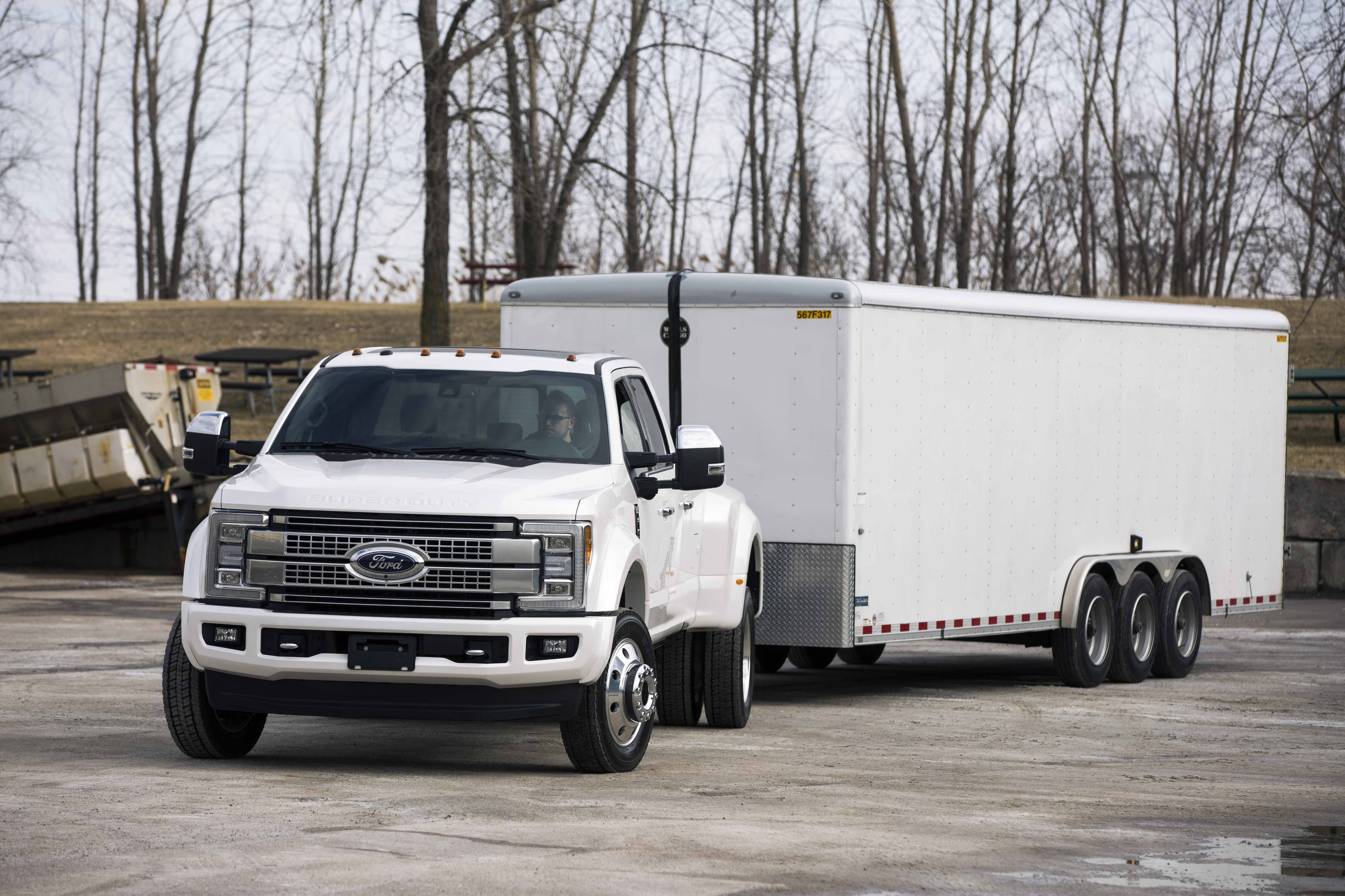 Super Duty with available Trailer Reverse Guidance[1]