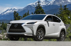 The Lexus NX lineup might gain a new trim level powered by a V6 engine.