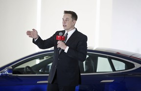 Elon Musk, Chairman, CEO and Product Architect of Tesla Motors, wants to expand Tesla beyond just electric cars.